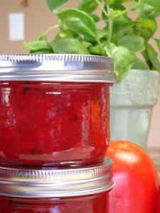 Tomato Basil Jam