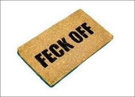 Irish door mat