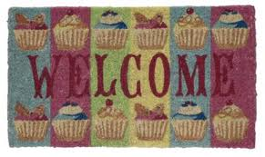 foodie door mat