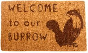 nature lover door mat