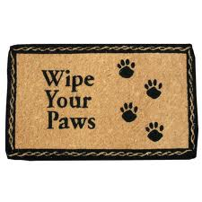 pet lover door mat