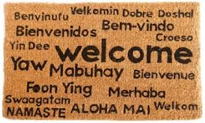 world traveler door mat