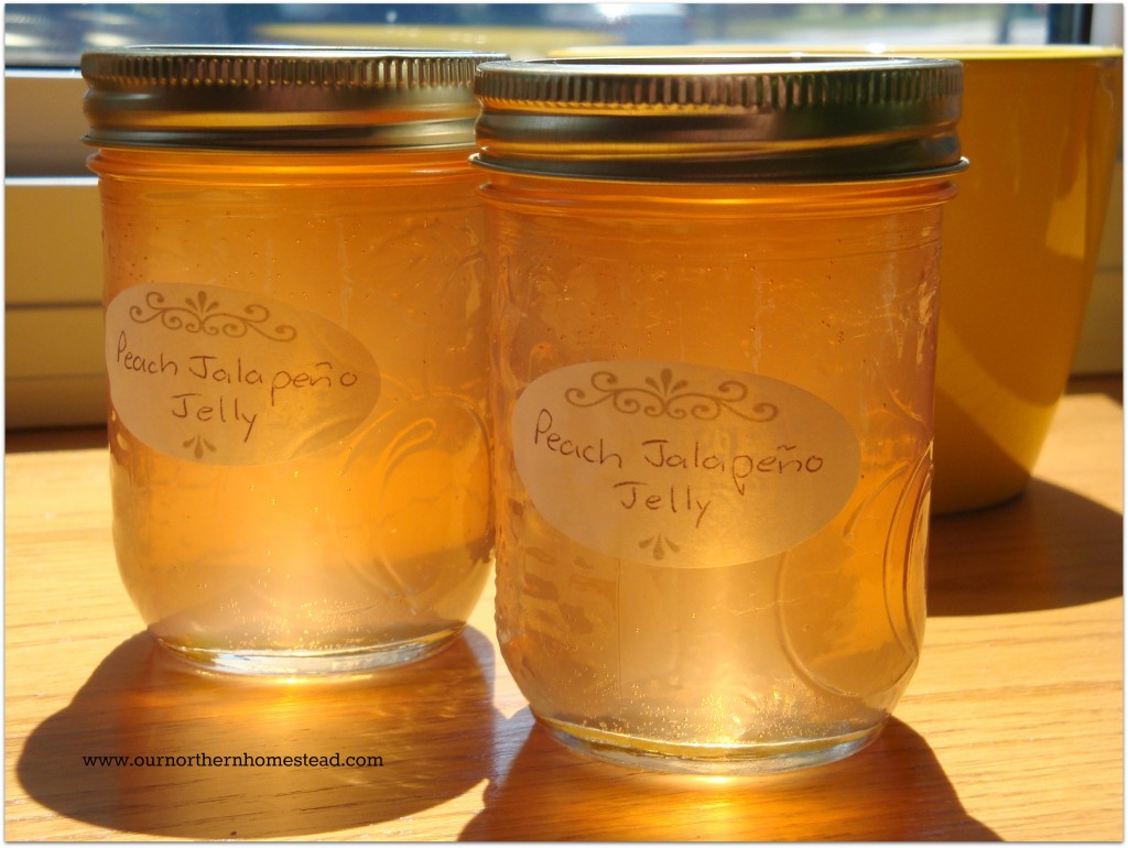 Peach Jalapeno Jelly