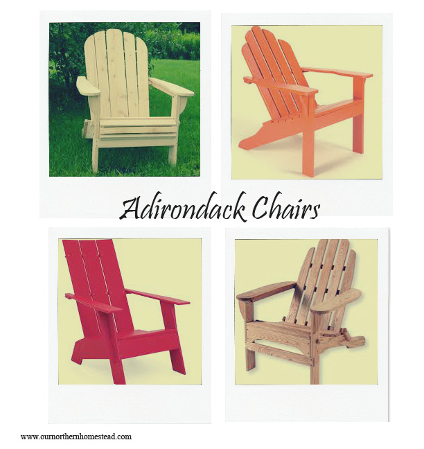 Adirondack Chair Collage