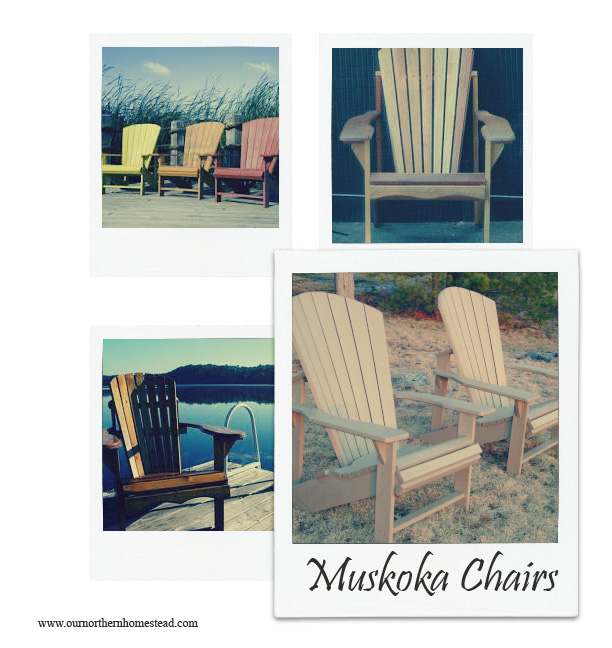 Muskoka Chair Collage