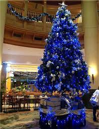 blue Xmas Decor