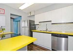 Yellow Countertop
