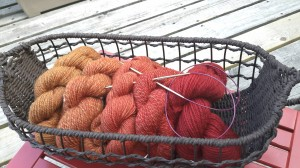 Handspun Heather Ombre Yarns